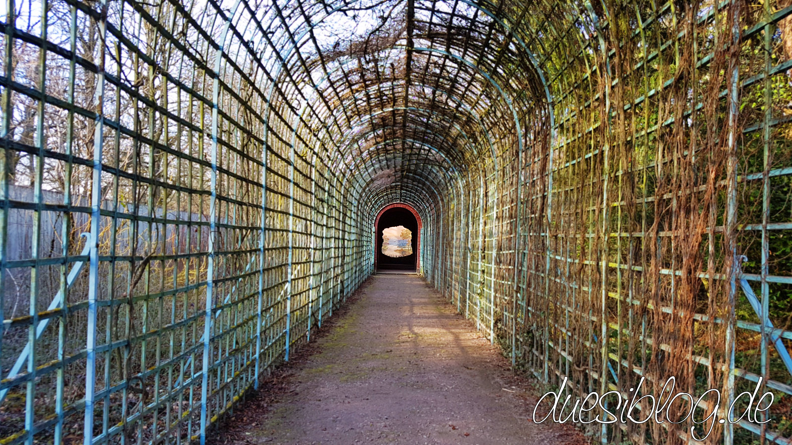 Perspektiv Ende der Welt Schwetzingen Schlosspark duesiblog 01