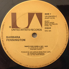 BARBARA PENNINGTON:TWENTY-FOUR HOURS A DAY(LABEL SIDE-A)