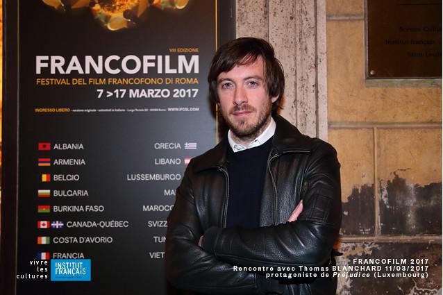 Francofilm 2017 - rencontre avec le protagoniste Thomas Blanchard