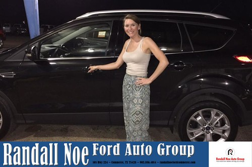 Congratulations Sara on your #Ford #Escape from Deen Slagl ...