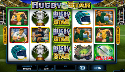 Rugby Star slot game online review