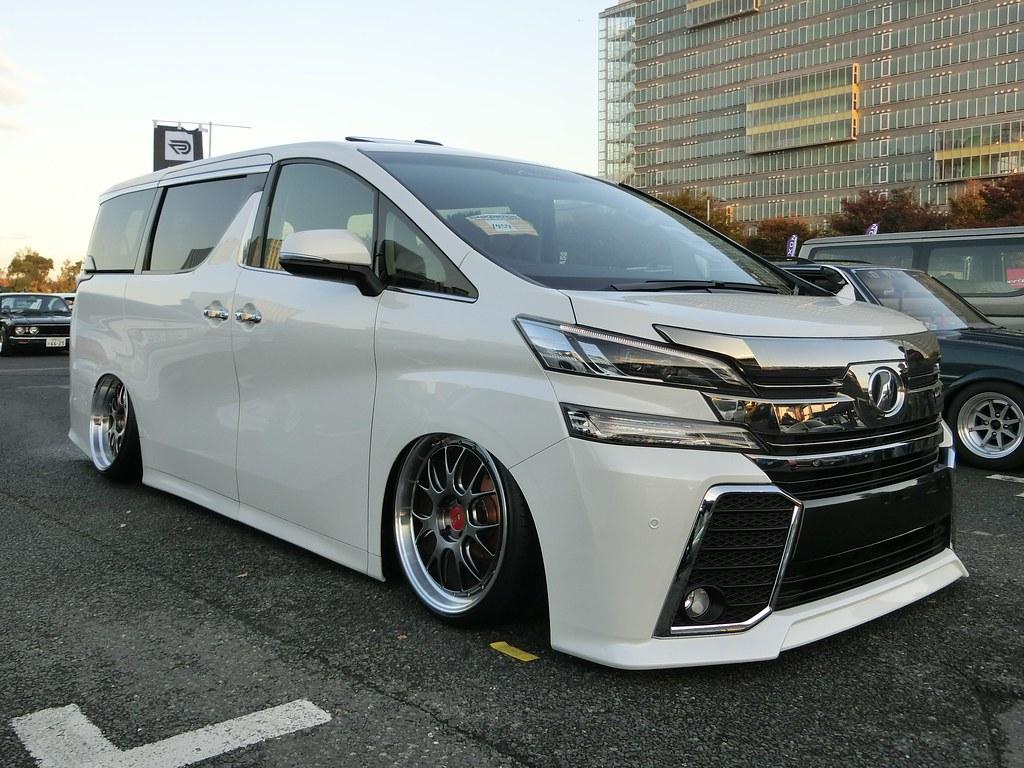 Toyota Vellfire Stance Nation Japan Tokyo 2015