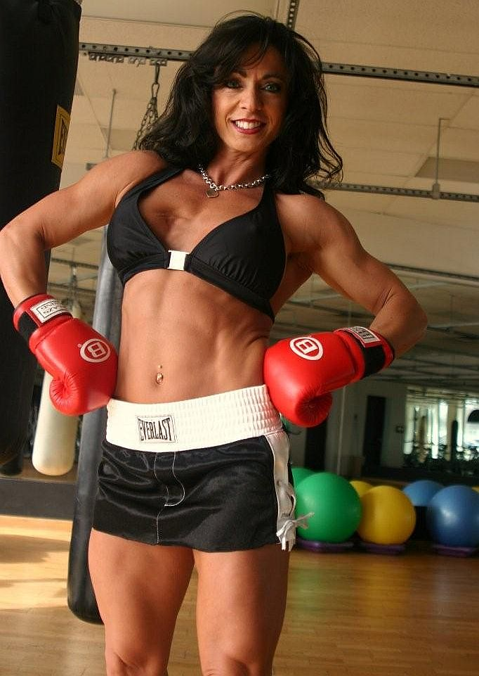 52 year old mother of two IFBB Pro and fitness model Karen