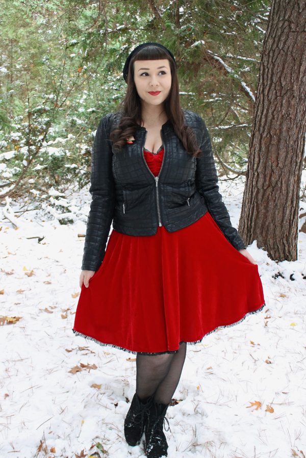 red velvet dress sourpuss clothing