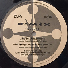 V.A.:X-MIX ISSUE FOURTEEN 1993(LABEL SIDE-B)