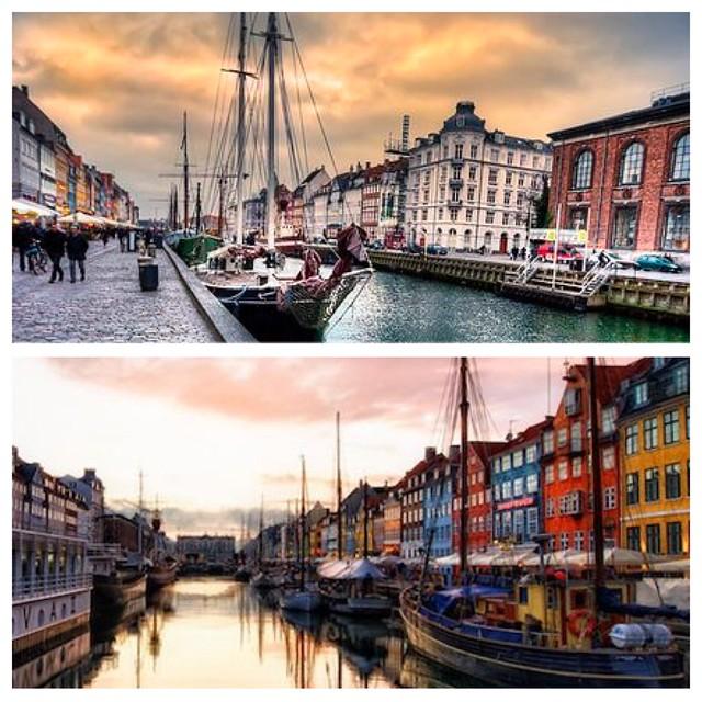 SunsetViewCopenhagenDenmarkNyhavn