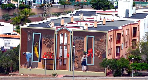 Mural, Las Nieves, Adeje