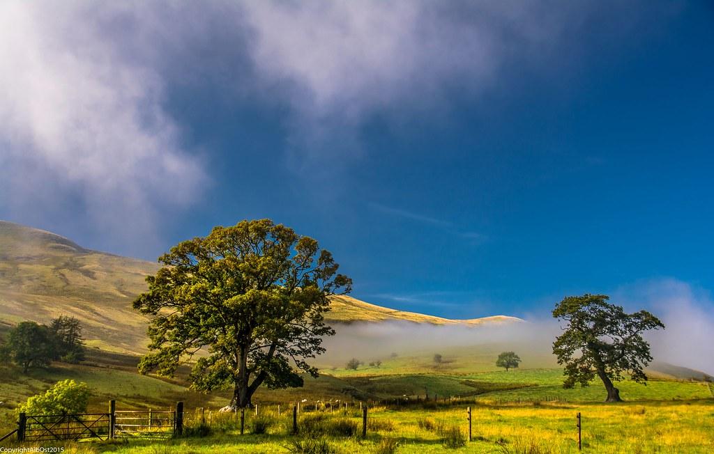 Mild The Mist Upon The Hill - Poem by Emily Jane Brontë