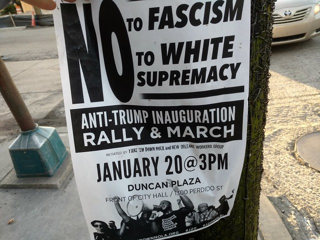 Anti Trump Rally