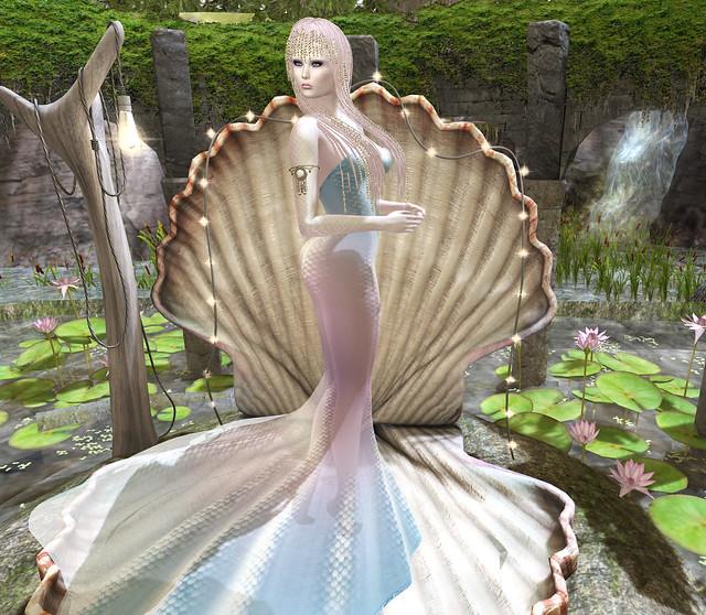 Siren gown, Poet's Heart @ TSA