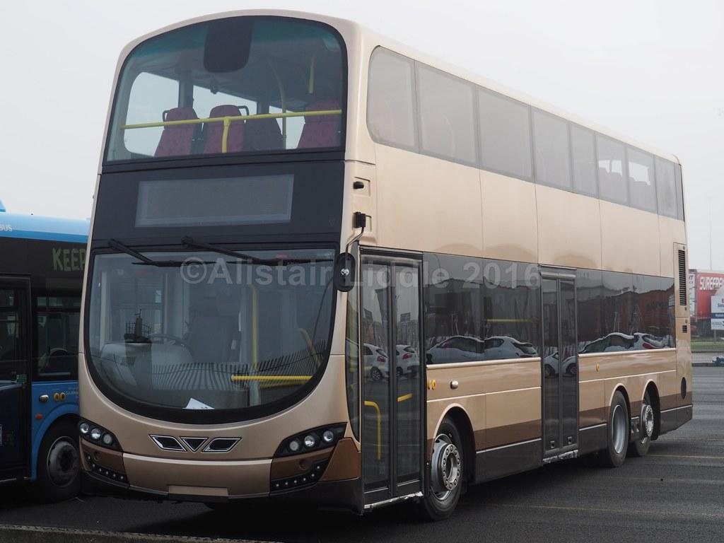 Kmb Volvo B8l Germini Body No Yb165 1 First Body