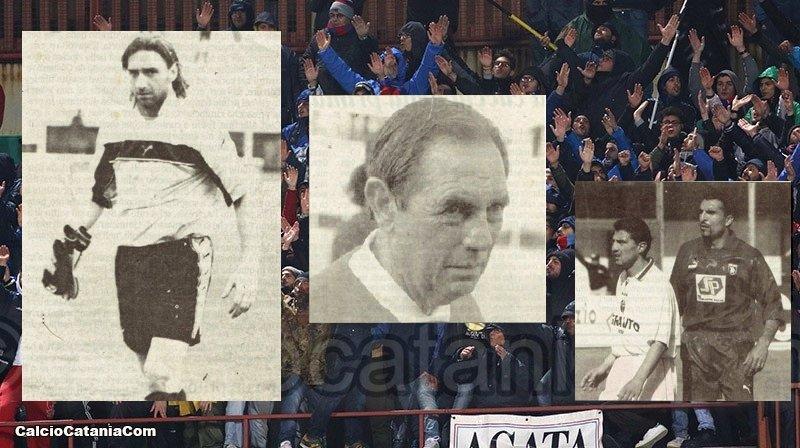 Ciccio Bifera, Piero Cucchi e Gennaro Monaco: tre artefici della promozione in C1 del 1999