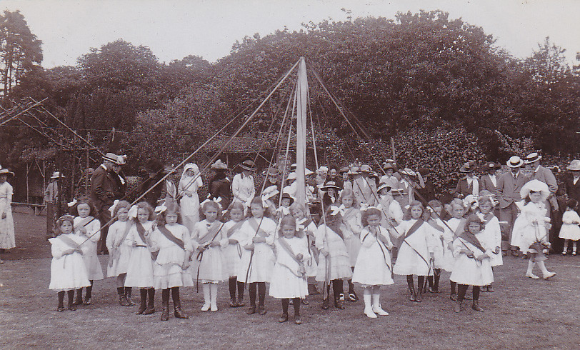 May Day Wye, Kent, 1912.