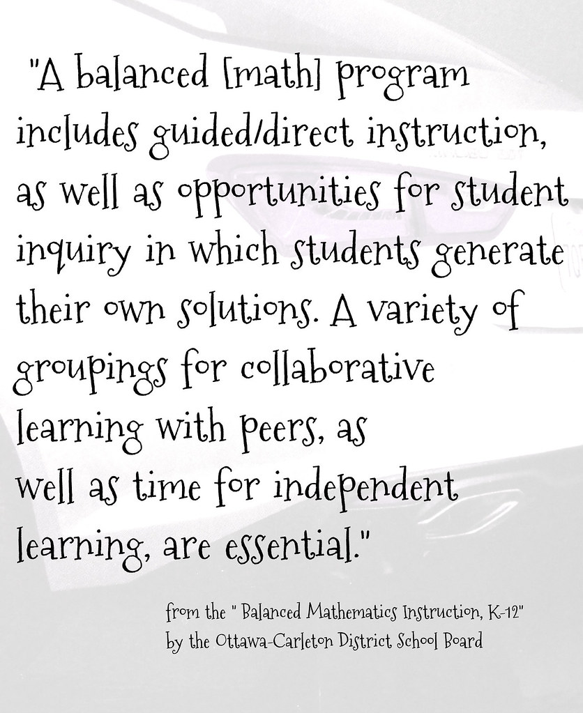 Educational Postcard A Balanced Math Program Includes Flickr