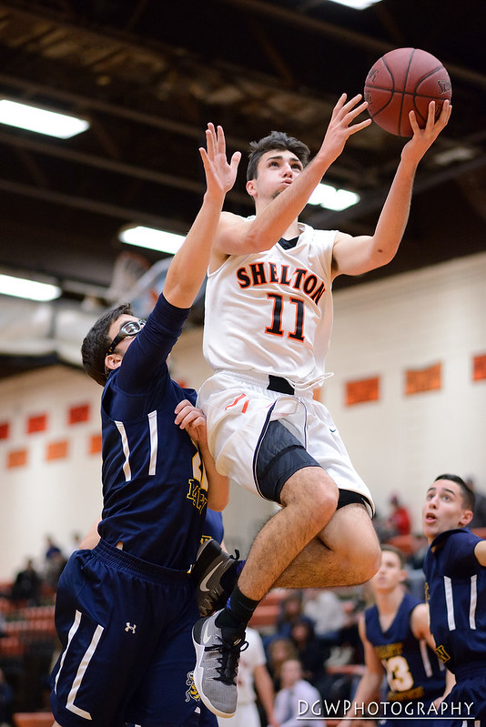 Shelton vs. East Haven - High School Basketball