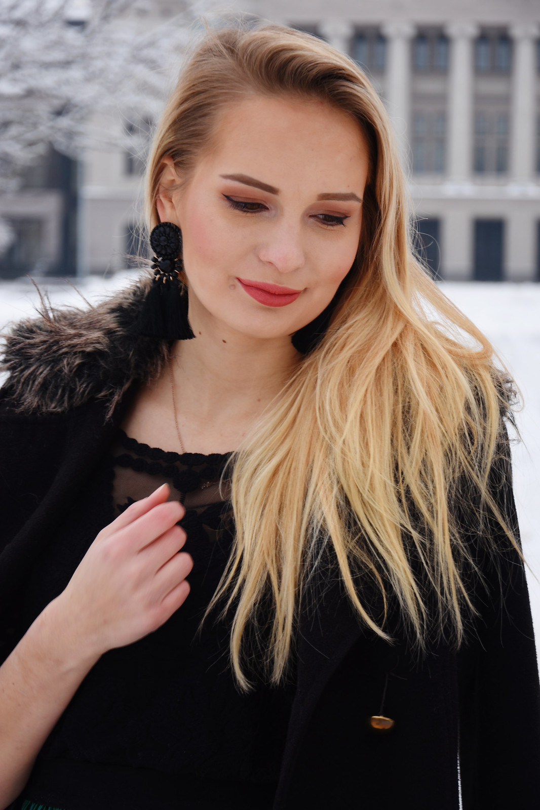 Blonde Latvian girl