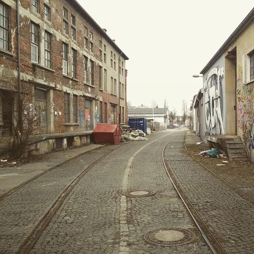 Schienen ohne Bahn.