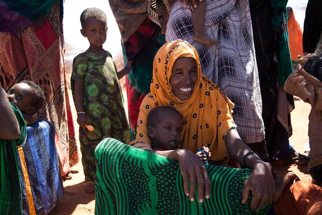 40-year-old Sadeh Abdihayii laughs when asked about her age