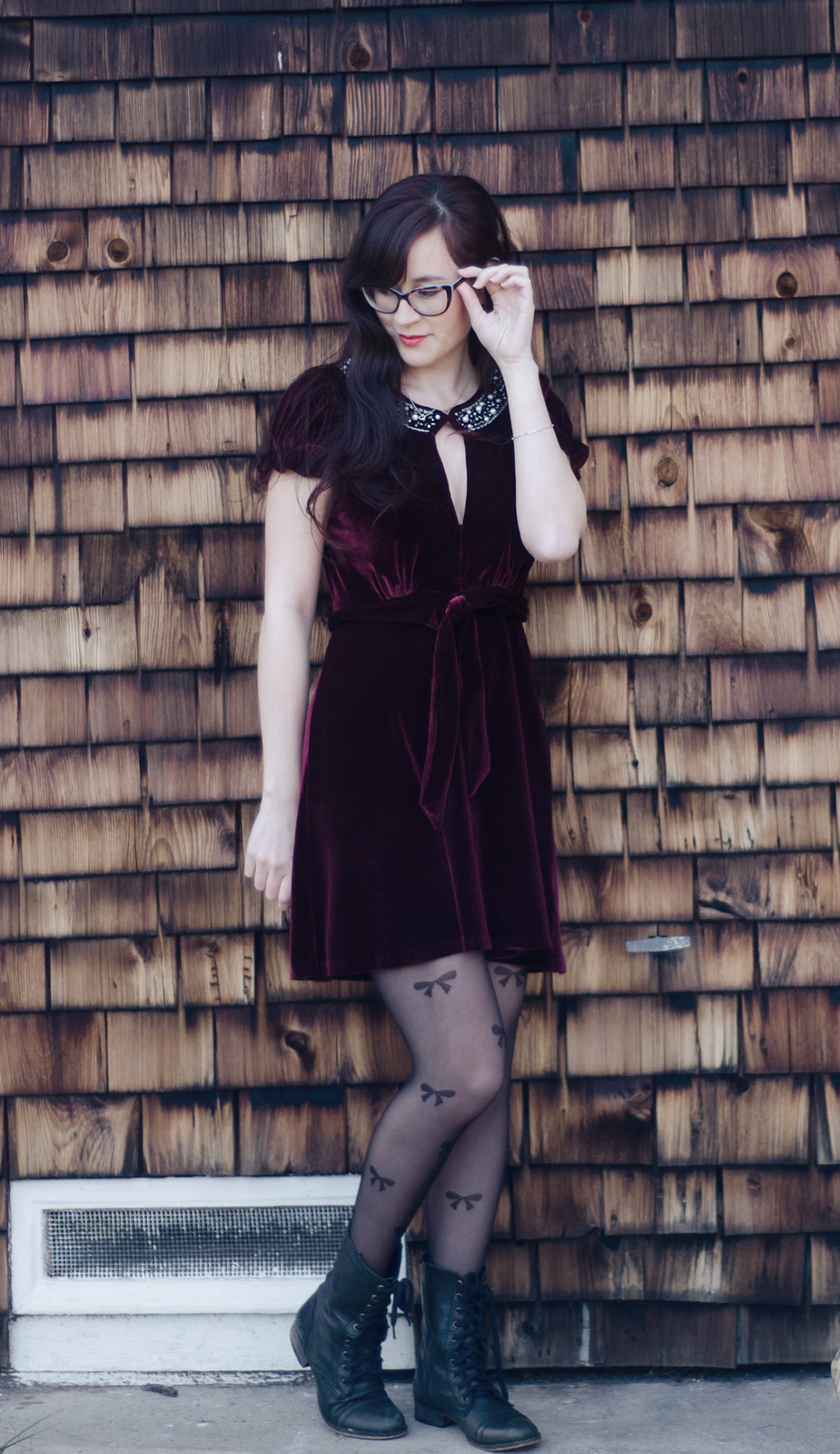 velvet xmas dress