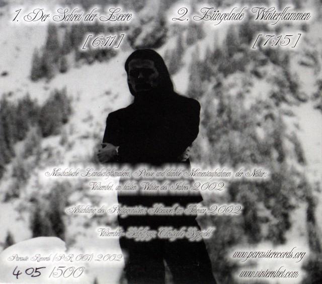 Vinterriket Kälte Limited Editon, hand-numbered (###/500)