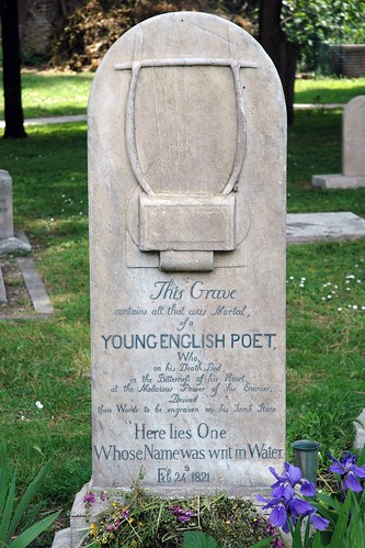 John Keats This Grave Contains All That Was Mortal Of A