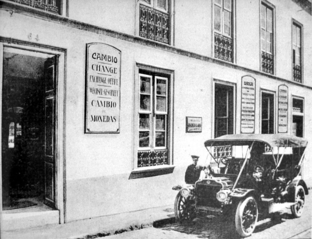 1907 oficina de banca y cambio nicolas dehesa v orlock for Oficina de cambio