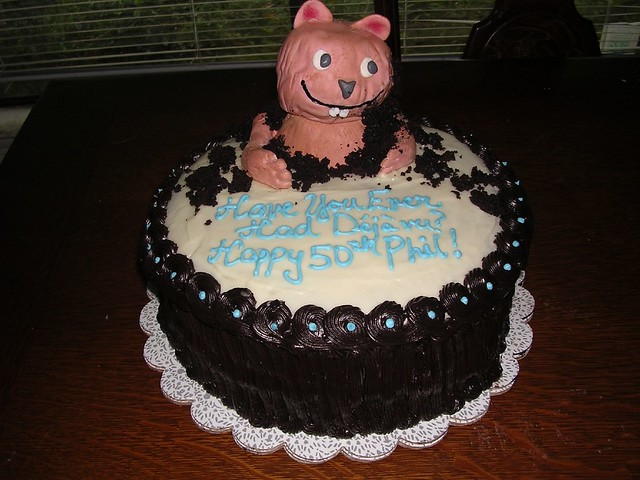 Groundhog Day Birthday Cake | Flickr - Photo Sharing!