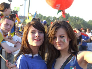 Fans from Italy | by Maximilian Buddenbohm
