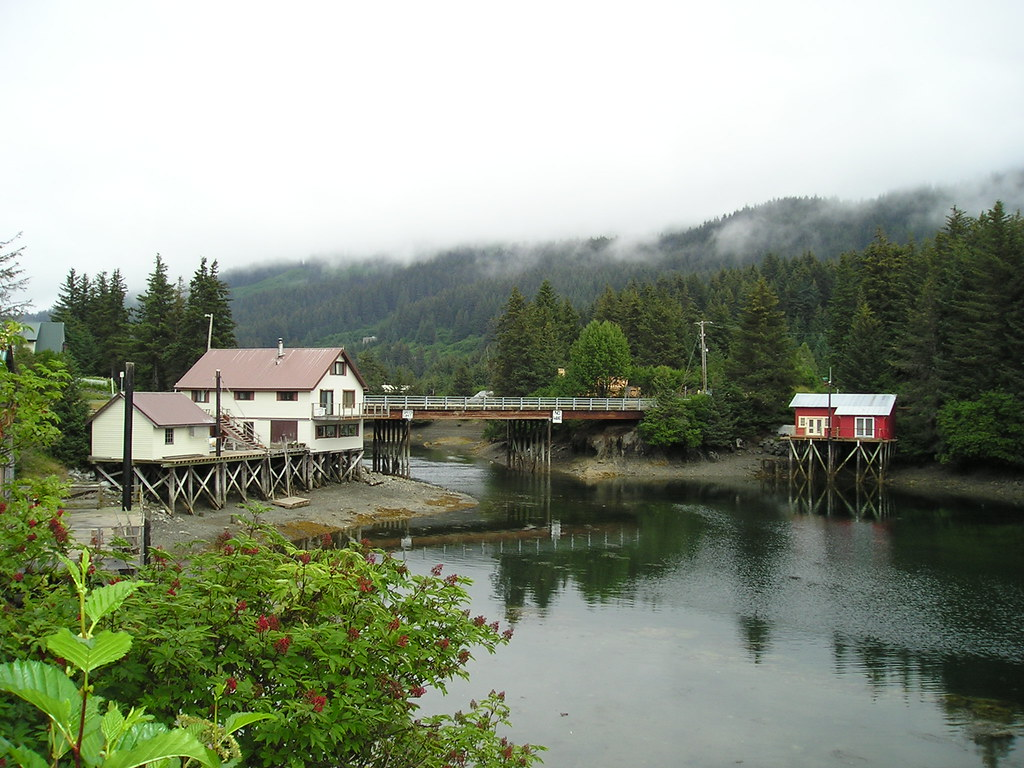 seldovia alaska the waterfront area of seldovia alaska