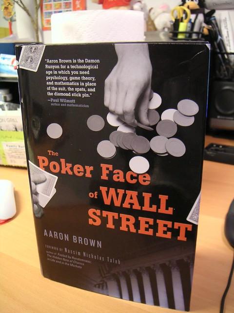 Poker face of wall street