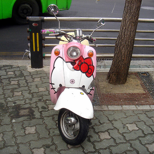 Hello Kitty scooter | by superlocal