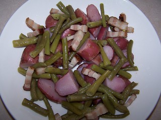 Green Beans, Potatoes and Bacon | by swampkitty