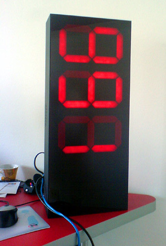 Big Diy Led Display This Big Led Display Prototype I