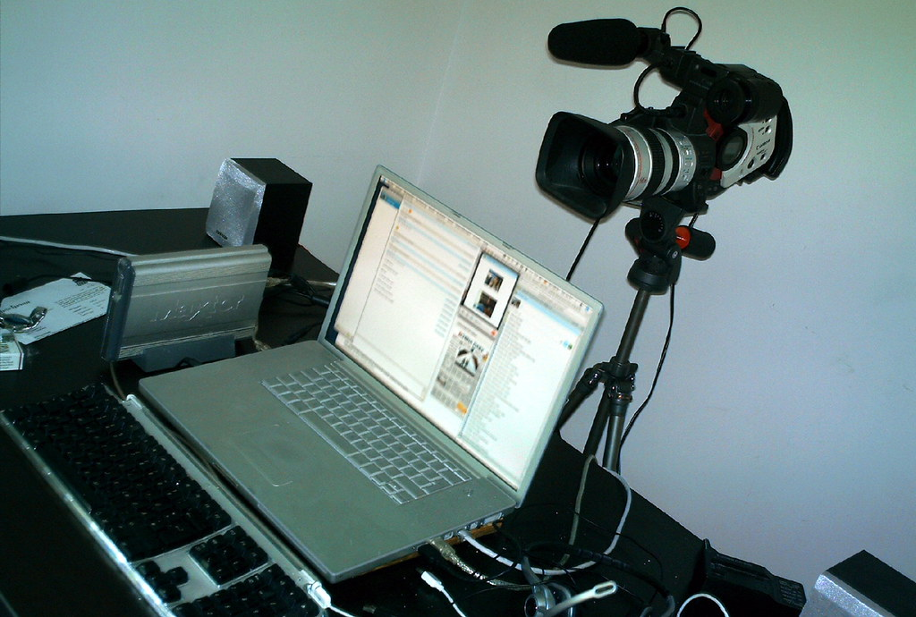 The most expensive webcam of all times? - I am using my Cano… - Flickr