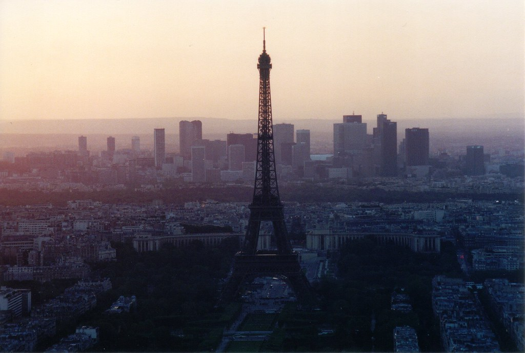 Paris skyline this is one of my favorites a great shot o flickr paris skyline by timrdue voltagebd Choice Image