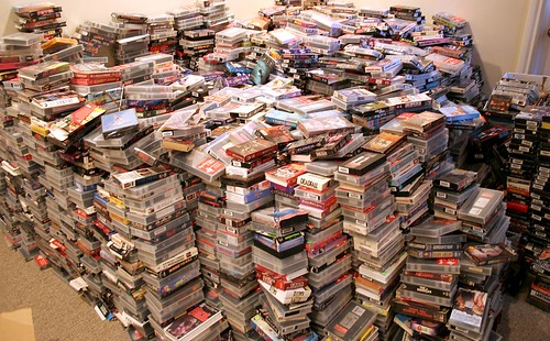 VHS Heaven...or Hell. | by makelessnoise