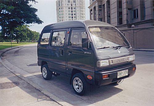 Every Van Suzuki Minivan Minivan With Aircon Great