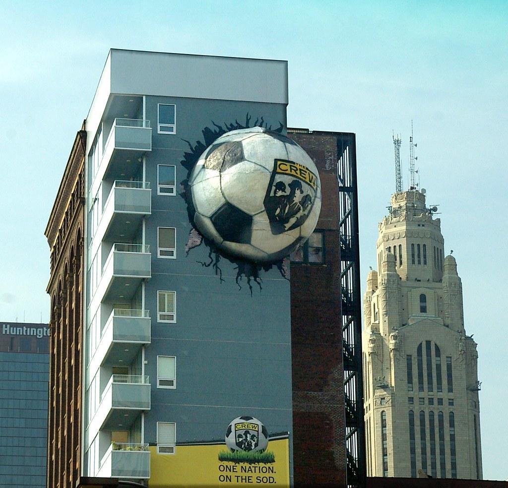 Crew Socker Ball Building