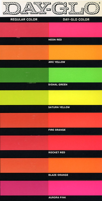What Colors Create Fluorescent Red Paint