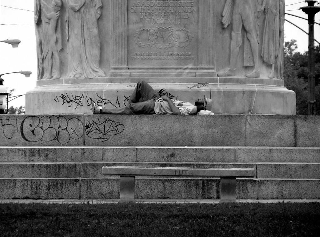 The Yellow Wallpaper Essay Monument Sleeper  By Incendiarymind Monument Sleeper  By Incendiarymind Business Law Essays also Essays On English Language Monument Sleeper  This Homeless Man Positioned Himself Righ  Flickr Argumentative Essay Examples High School