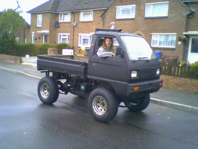 Jeep 4x4 2017 >> Bedford Rascal Pick up 4x4 01 | Richie_Jeep | Flickr