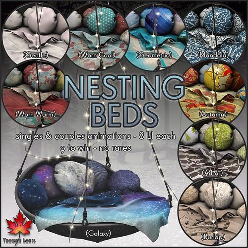 Trompe loeil the arcade september 2015 nesting beds flickr - Trompe loeil hoofd bed ...