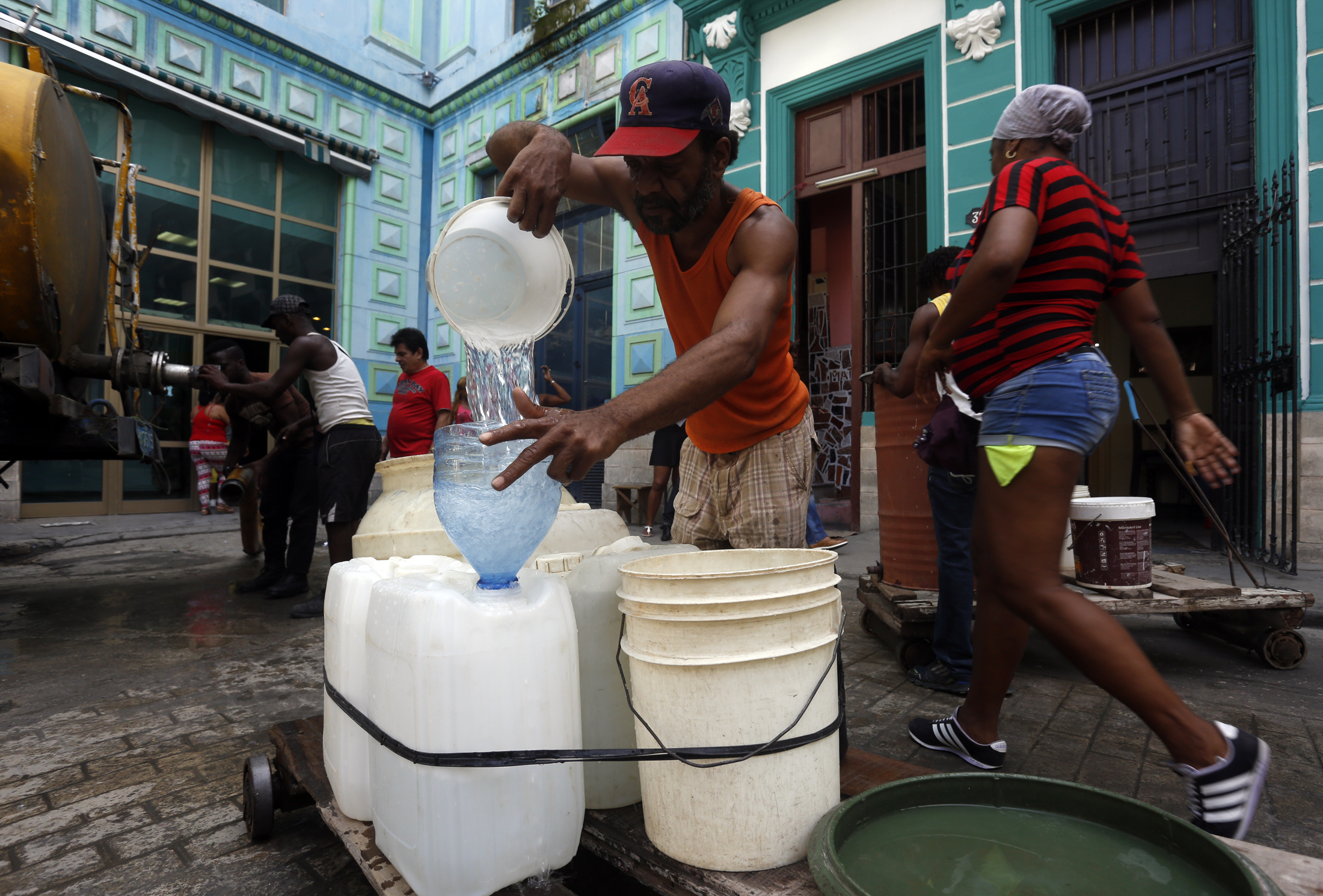 Water Shortages Have A Heavy Impact On Women In Cuba