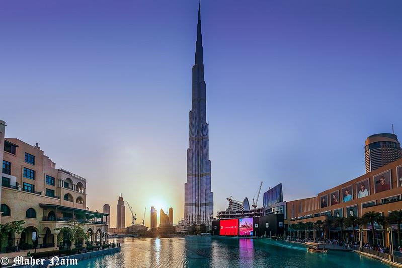 Dubai stopover - Dubai Tower .