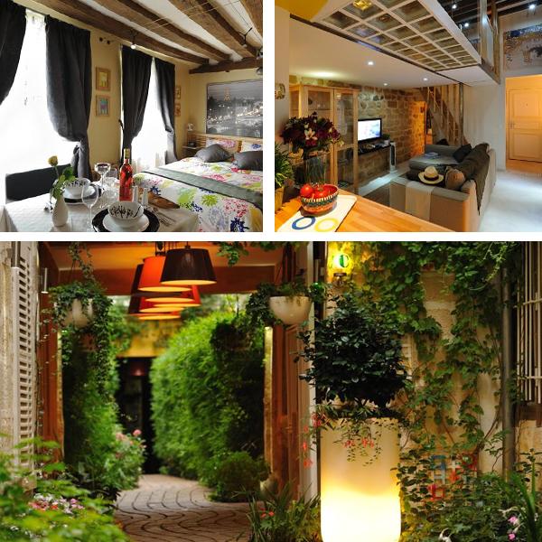 Hotel Les Patios du Marais, precioso hotel entre jardines en el mejor distrito de París donde dormir