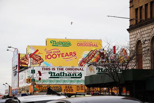Coney Island in Winter