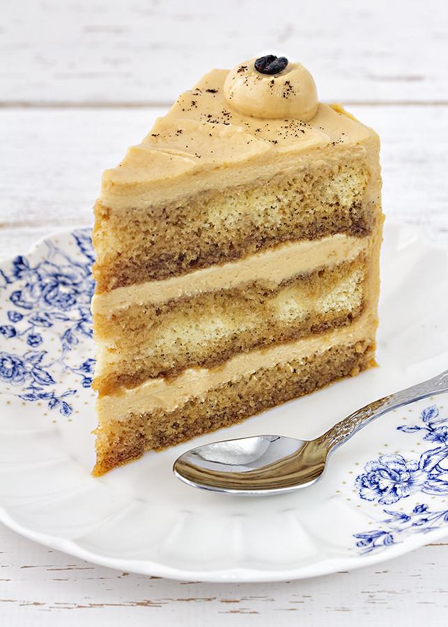 receta tarta café