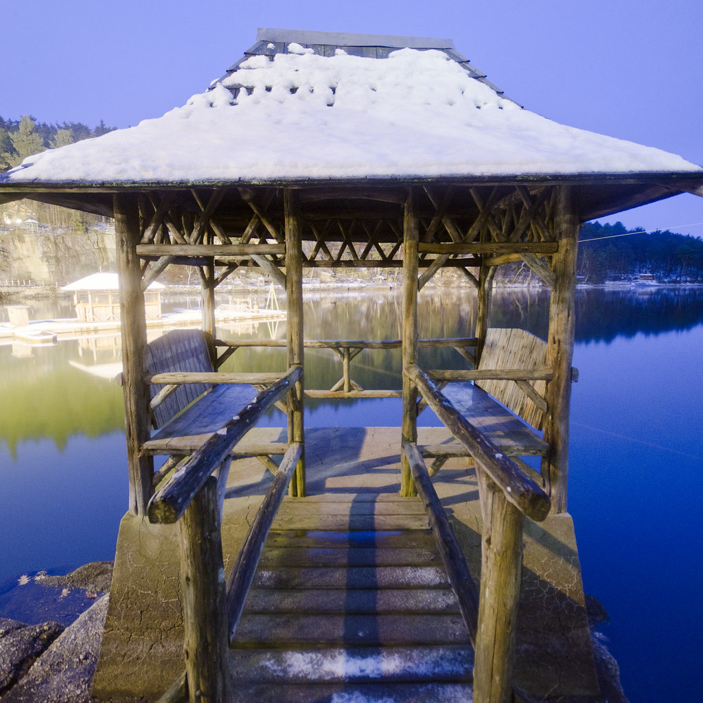 Blue Hour Gazebo