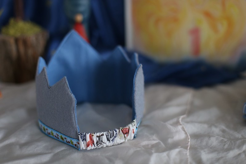 back of the crown