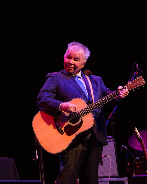 John Prine (with Amanda Shires) at Peabody Opera House, March 10, 2017